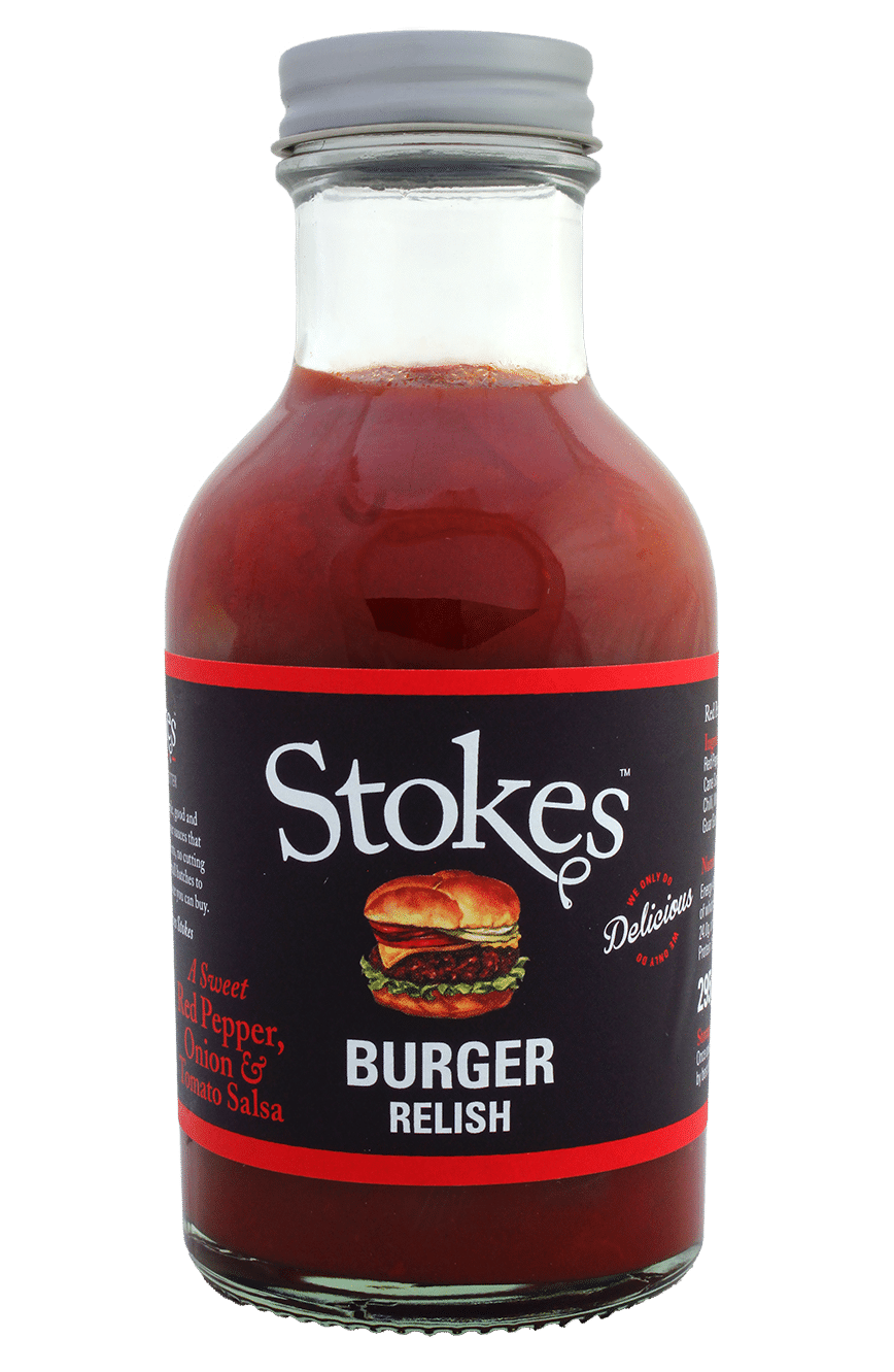 Burger Relish Stokes Sauces