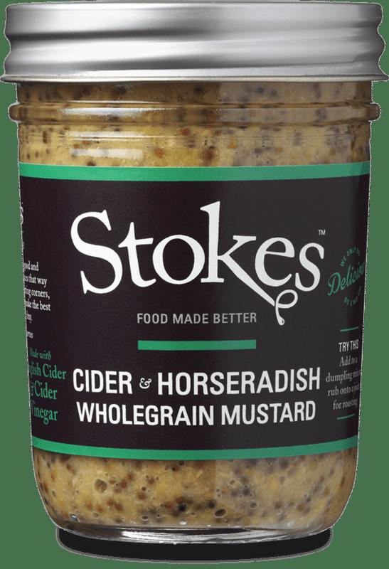 cider horseradish wholegrain mustard